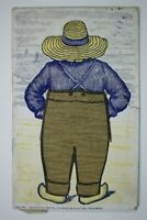 1897 Livermore & Knight Co. Providence No 161 Novelty Postcard Uncle Reuben?