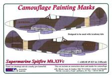 AML Models 1/48 CAMOUFLAGE PAINT MASKS SUPERMARINE SPITFIRE Mk.XIVc