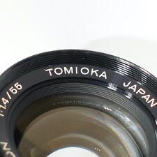 Pentax M42 fit Tomioka 55mm 1:1.4 Auto Chinon Camera Lens