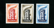 Luxembourg Stamps # 318-20 XF OG NH Scott Value $152
