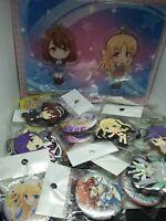 100pc+ Anime figure keychain charm strap Japan kawaii idol lot WM2