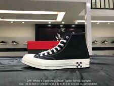 Converse x off white whit box sneakers streetwear all size