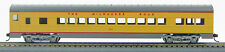 HO 72 Ft Pass. Coach Car , RTR Milwaukee Road (Yellow-Gray) (1-909)