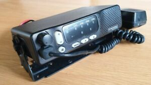 Motorola M1225 UHF 450-470 MHz 25W 4Ch M34DGC90E2AA TESTED PROGRAMMING INCLUDED