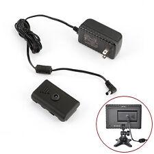 Adaptador Enchufe CN-AC2 alimentación de CA para luz LED de vídeo CN-160/126 SONY NP-F550 Nuevo