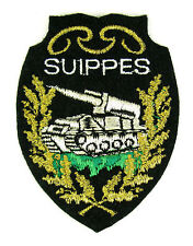Ecusson brodé militaire ♦ (badge embroidered) ♦ CHAR L.MISSILES PLUTON SUIPPES