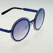 Les Pièces Uniques Milano Sunglasses MASK 10 col.06 - Blue Frame - Mirror Lenses