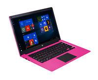 "Ematic EWT147PN 14.1"" HD x5-Z8300 1.44GHz 4GB RAM 32GB eMMC Win 10 Home Pink"