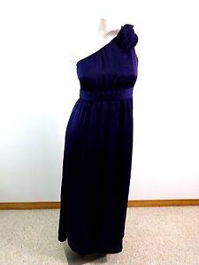 TEVOLIO WOMENS SIZE 8 PURPLE SATIN FORMAL DRESS SUPER CUTE