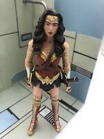 "WONDER WOMAN 6"" Loose FIGURE Batman vs Superman DC COMICS MULTIVERSE New Mint👍"