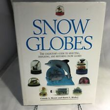 Snow Globes Collector Guide Hardcover Book Souvenirs Plastic Glass Holiday