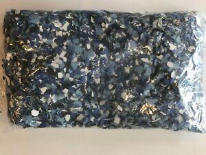 Rust-Oleum Decorative Color Chips, Light Blue, Dark Blue, Black & White Blend