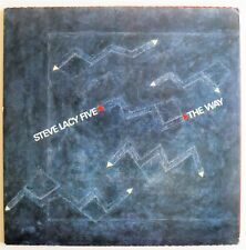 STEVE LACY THE WAY HAT HUT FREE JAZZ / AVANT 2 LP MINT-