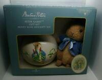 Beatrix Potter Classics Peter Rabbit Gift Set  Ceramic Money Bank And Soft Toy