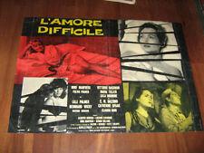 L'AMORE DIFFICILE,SPAAK,MANFREDI,GASSMAN,FOTOBUSTA 2
