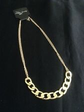 *Vintage Style Gold Thick & Thin Chain Necklace*