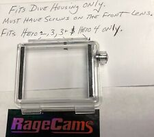 WATERPROOF Expansion Back Door for GoPro Hero2 Hero3 Hero4 Bat LCD Dive Housing