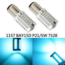 Front Signal 1157 2057 3496 7528 BAY15D 33 SMD LED Ice Blue K1 H