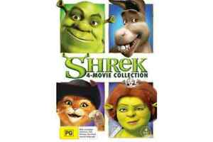 Shrek ~ 4 - Movie Collection (Region 4, 4 Disc DVD Set) *New & Sealed*