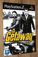 The Getaway very rare Promo Poster 59x42cm Playstation 2