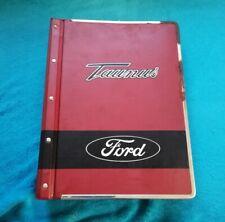 Ford Taunus MK1 Ersatzteile Katalog Oldtimer