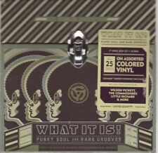 "What It Is! Funky Soul and Rare Grooves by Various (25 Colored Vinyl 7"") NEW!!!"