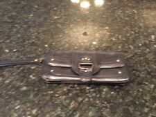 Nordstrom All Leather Black Clutch Wallet