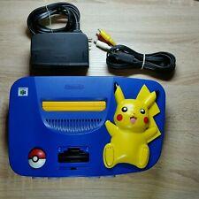 Nintendo 64   N64   Pokemon Pikachu Edition   inkl. Kabel   Retro ♡