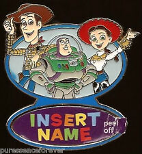 Disney Pin: WDW/DLR Create Your Own - Toy Story Characters: Blank (Artist Proof)