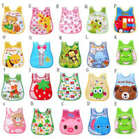 Newborn Cute Kids Bibs Baby Soft Cartoon Bib Toddler Waterproof Saliva Dripping