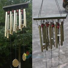 10 Tubes Copper Yard Garden Ancient Outdoor Living Wind Chimes Windchime #A