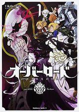 NEW Overlord Vol.1 Japanese Version Manga Comic