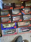 Exclusive First Edition 1/76 Scale Buses Lot Of 13 Different Models Full List