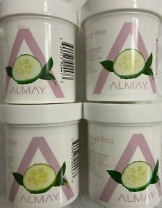 ✦ NEW ✦ 4 ALMAY EYE MAKEUP REMOVER PADS OIL FREE HYPOALLERGENIC 80 PADS EA (320
