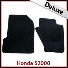 HONDA S2000 1999-2009 Tailored LUXURY 1300g Carpet Car Floor Mats BLACK
