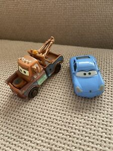 Mater And Sally Disney Pixar Cars Combined Postage