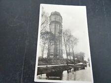 Nederland ansichtkaart ZIERIKZEE Watertoren verzonden 1938