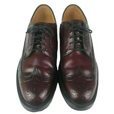 Hanover LB Sheppard Signature Wingtip Oxblood Leather Size 8 D/B