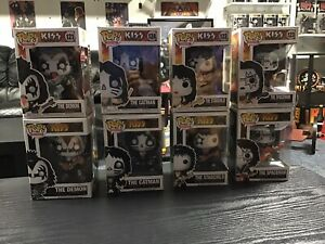 KISS Funko Both Sets Vaulted 2011 And New Set 2019