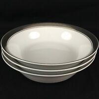 Set of 3 VTG Coupe Cereal Bowls by Mikasa Tempo Seventy Fine China Mercury 5895