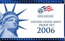 2006-S US Proof Mint Set 10 Coins CLAD 20hhu0721