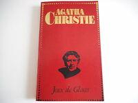 AGATHA CHRISTIE-  JEUX DE GLACES 1953- EDITO-SERVICE S.A.GENEVE,EDITEUR