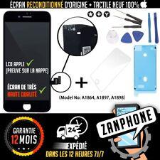 ECRAN ORIGINAL APPLE VITRE TACTILE IPHONE 8 PLUS NOIR LIVRAISON GRATUITE
