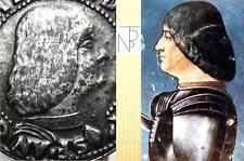 Milano (L.M.Sforza-il Moro) Vintage,Plaque-fermasoldi