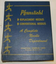 Vintage PFANSTIEHL Phonograph Needle Store Display/Storage Box J81