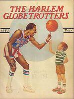 The Harlem Globetrotters 1983 Tour Program 011217DBE