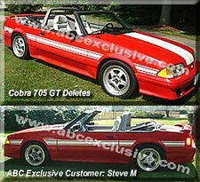 MUSTANG STYLING BAR, no Light, Black ONLY, 1990 -1993  (1979 -89 see note )