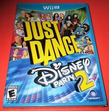 Just Dance: Disney Party 2 Nintendo Wii U *Factory Sealed! *Free Shipping!