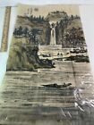 "VINTAGE Batique Pseudo-Classic Taiwan Asian Painting ""Landscape in Autumn"" NIP"
