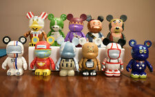 """Disney Vinylmation 3"""" Park Series 3 Lot of 11 including Chaser w/ Cards"""